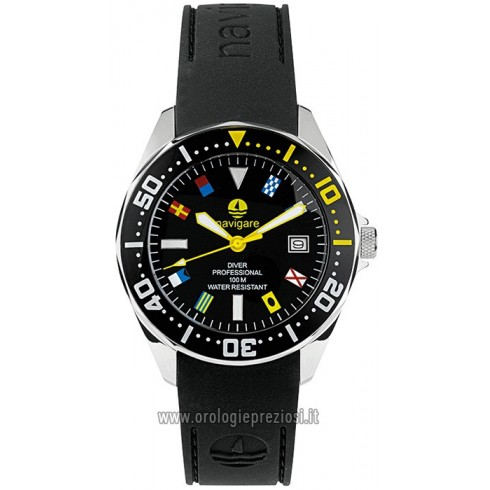 Navigate Clock For Pacific Flag Watch