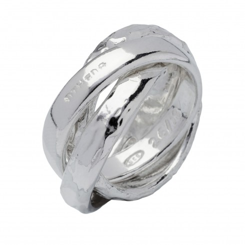 Absolute Anello In Argento Naturale